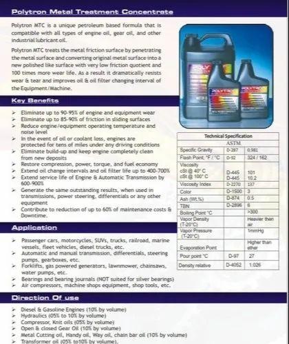 Air Compressors Polytron Metal Treatment Concentrate | ID