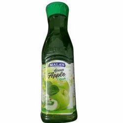 Malas Green Apple Crush Fruit Drink, Packaging Size: 750 mL
