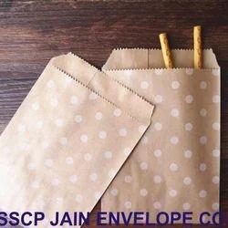 Brown Printed Paper Envelope