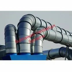 SV Round Exhaust Ducts, For Industrial