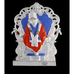 Silver God Idols Sai Baba