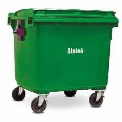 Green Dust Bin