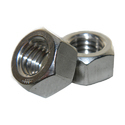 Hexagon Silver Nuts