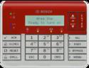 Bosch B925f Fire And Intrusion Keypad, Sdi2