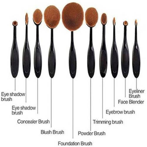 547823ba3f2 Huda Beauty Beauty Makeup Brush Set, For Household, Rs 900 /set | ID ...