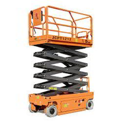 Battery Drive Scissor Lift Maintenance Platform