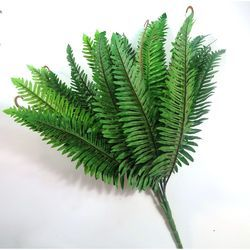 Artificial Fern Leaves