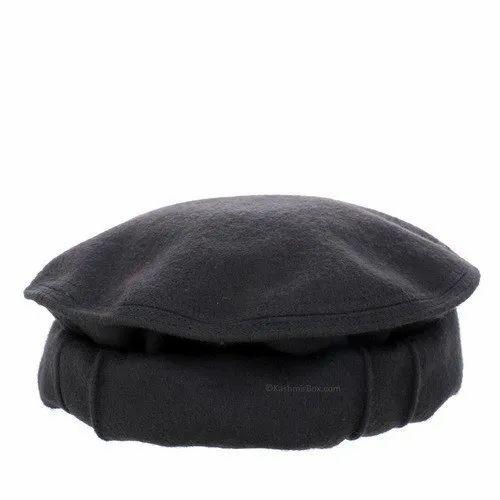 Black Uniform Bucket Gray Pakol Cap a3f4409234c