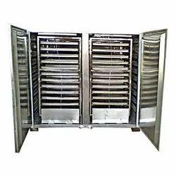 Mild Steel Tray Dryer Machine 96 trays