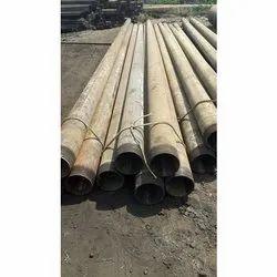 4-84 Inch Round Mild Steel Pipe, Thickness: 10-50 Mm