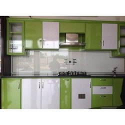 Aluminum Aluminium Modular Kitchen