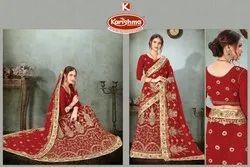 Designer Bridal Lehenga Saree - Devrani-04