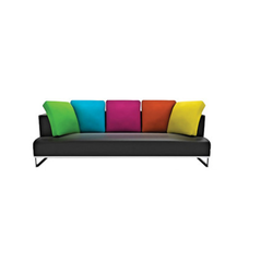 Leatherete Color Rewards Modern Sofa