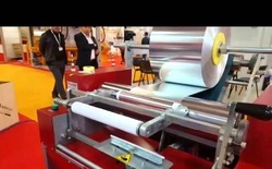 Alluminium Silver Foil Roll Making Machine