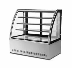 EDC 1200 C2 Curved Glass Show Case