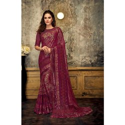 Party Wear Bridal Silk Saree