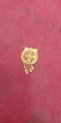 Golden Ladies Gold Pendant