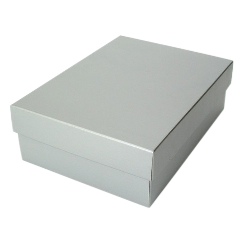 Paper White Garment Packaging Boxes