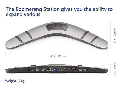 USB Adapters - J5Create JUD 480 Boomerang Station (USB 3 0