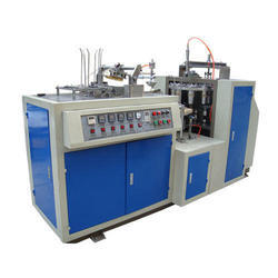 Mild Steel Paper Fully Automatic Disposable Glass Making Machine, Production Capacity: 1000-2000 Pieces/hr