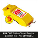 Circuit Breaker Lockout PIN OUT Slider