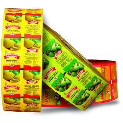 3 Layer Printed Laminated Packaging Rolls