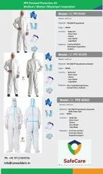PPE Kits Disposable Non-Coated 70 GSM