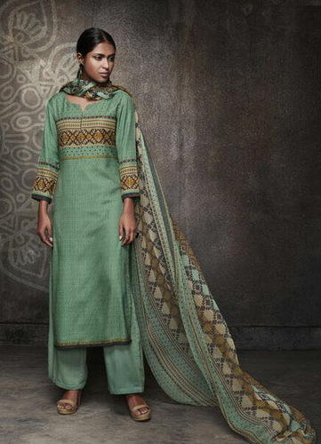 9eeffd4bd4 Ganga Rivaaz Winter Pashmina Suits at Rs 1490 /piece   Shree Kuberji ...