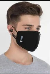 Reusable 6 Layer Mask With Bluetooth Earphones
