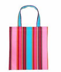 Multicolor Cotton Candy Shopping Bag, Size/dimension: 37x40cm