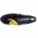 Davinchi Leather Black Mens Formal Shoes, Size: 7-10