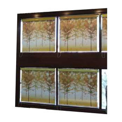 PVC Window Roller Blind, Thickness: 1 to 3 mm