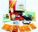 Arkam Daily Puja Samagri Kit for Regular Puja At Home Or Office With Aarti Sangrah (18 Items) (for 1