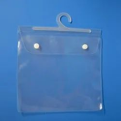 PVC Hanger Button Bag