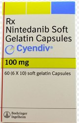 Cyendiv 100mg - Nintedanib Soft Gelatin Capsules