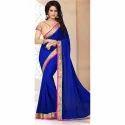 Designer Silk Saree, 6.3 M (with Blouse Piece)