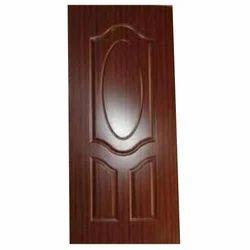 Polished Brown PVC Moulded Door