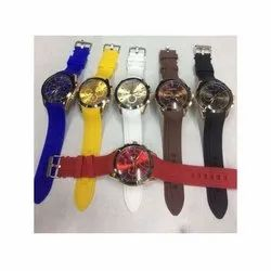 Casual Wear Mens Round Dial Analog Wrist Watches