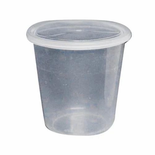 Round Plastic Storage Container
