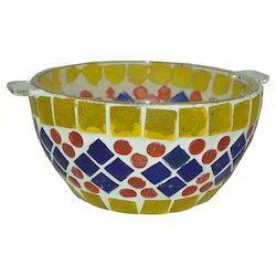 Glass Mosaic Bowl