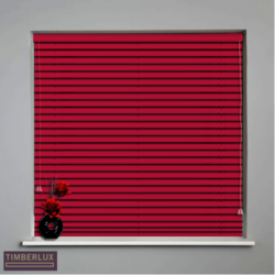 Red Wood Blinds
