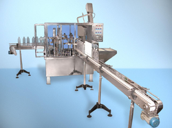 Linear Auto Cup Rinsing Filling Machine
