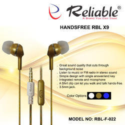 Reliable F-022 Handsfree X9