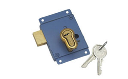 Cupboard Lock - Steel With Small Pin Cylinder L-FL-CL-002