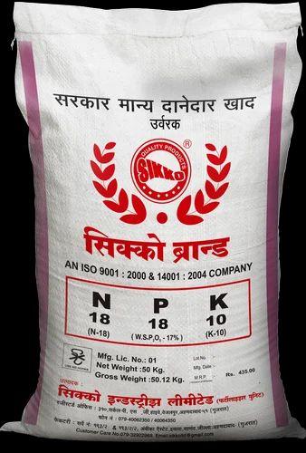NPK Fertilizer 18-18-10