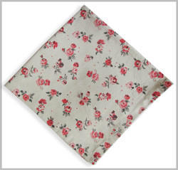 Multicolor Cotton Fancy Design Napkin, Size: 40 X 40 Cm