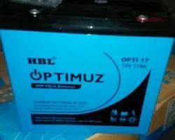 17 Ah HBL Optimuz SMF VRLA Battery