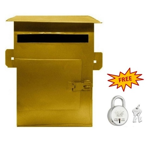 Hansafe Gold Letter Box