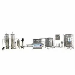 Excel Filtration Bottle Filling Mineral Water Plant, ISO, Bottle Filling Capacity: 50 Bottle/min