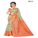 Fancy Printed Bhagalpuri Silk Saree